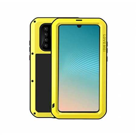 For Huawei P30 Pro Aluminum Metal Shockproof Case Yellow
