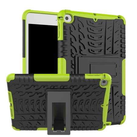 For iPad Mini 5 Case Protection Shockproof Rugged Cover- Green