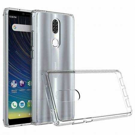 For Coolpad Legacy Case Shockproof Anti-Drop Crystal Back+TPU Bumper Cover