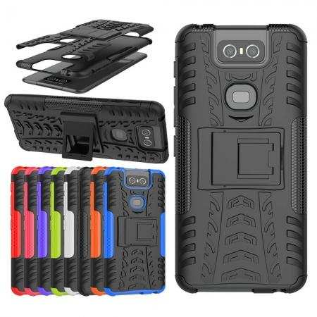 For ASUS Zenfone 6 ZS630KL / 6z / 6 2019 Case Shockproof Armor Kickstand Cover