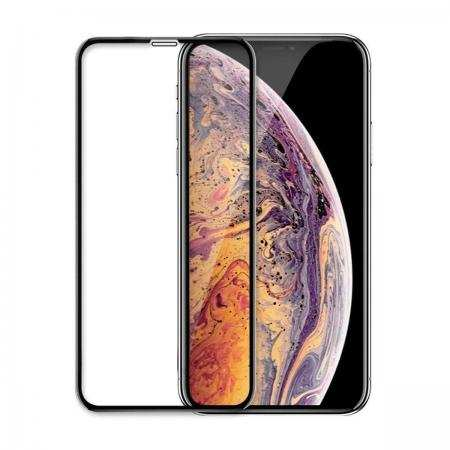 For iPhone XR,XS,XS MAX 9H 6D Curved FULL COVER TEMPERED GLASS Screen Protector