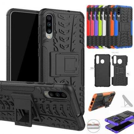 For Samsung Galaxy A71 5G A21 A11 A10e A51 A50 A20 Shockproof Hybrid Armor Stand Back Case Cover