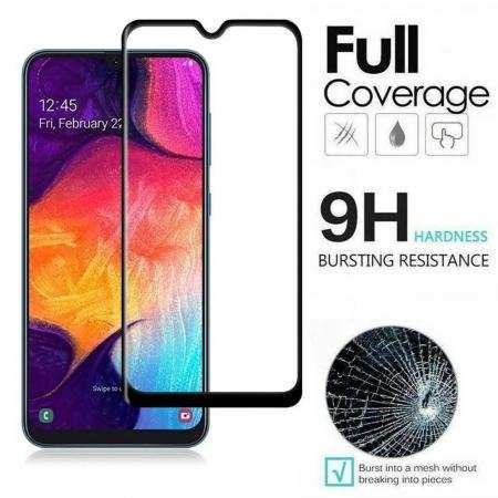 For Samsung Galaxy A90 Full Cover Tempered Glass Screen Protector