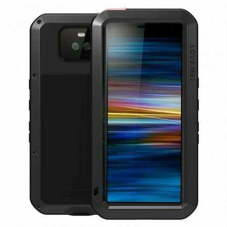 For Sony Xperia 10 Plus Metal Shockproof Waterproof Case Cover
