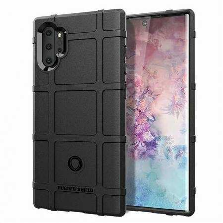 For Samsung Galaxy Note 10 Plus 5G Shockproof Rubber Impact Back Case Cover
