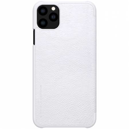 Genuine Nillkin Flip Wallet Leather Case Cover For iPhone 11 Pro - White