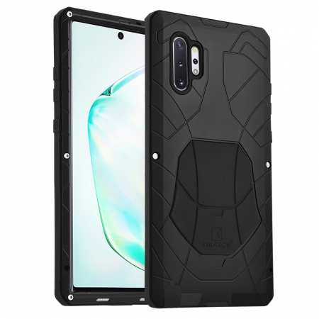 Luxury Armor Metal Case Shockproof Cover For Samsung Galaxy Note 10 - Black