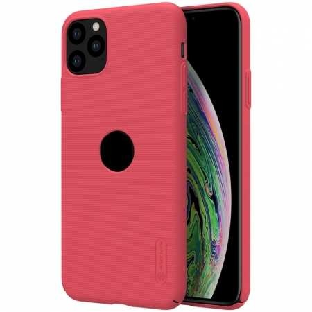 Nillkin For iPhone 11 Pro Frosted Matte Shield Hard PC Shell Cover Case - Red