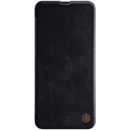 Nillkin Qin Series Flip Leather Card Slot Case Cover For Samsung Galaxy A70S - Black