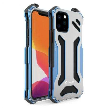 R-just Shockproof Metal Aluminum Case Cover For iPhone 11 Pro Max