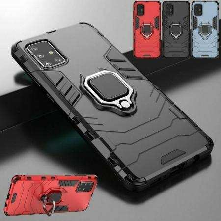 For Samsung Galaxy A51 A71 5G UW Magnetic Ring Holder Armor Case Stand Cover