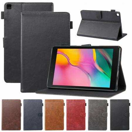 For Samsung Galaxy Tab A7 10.4 T500 A 10.1 10.5 S6 Lite S5e Case Leather Stand Tablet Cover
