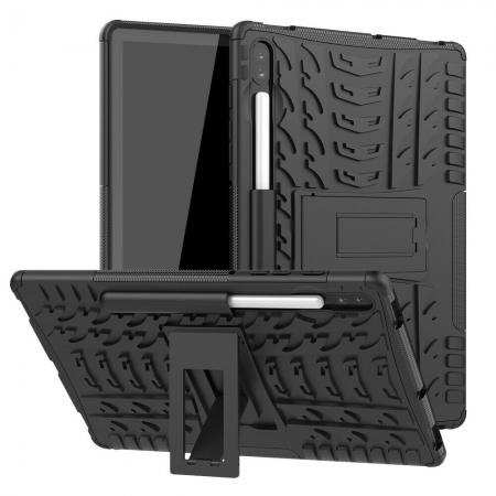 For Samsung Galaxy Tab  S6 Lite Case 10.4 10.5 Rugged Heavy Duty Shockproof Protective Cover with Kickstand