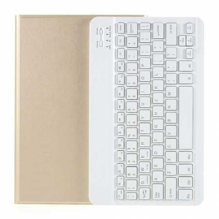 For Samsung Galaxy Tab S6 T860/T865 Case Cover Bluetooth Keyboard - Gold