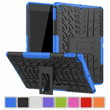 For iPad 7th Gen 10.2 2019 Tablet Case Rugged Hybrid Shockproof Stand Cover