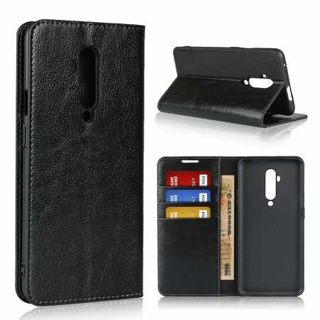 For Oneplus 7T Pro - Genuine Leather Wallet Flip Case Stand Cover
