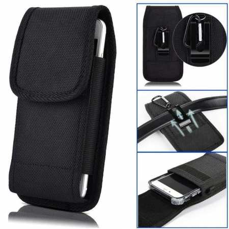 For Samsung Galaxy S20 FE 5G A71 5G UW Phone Case Pouch Belt Clip Vertical Holster Cover