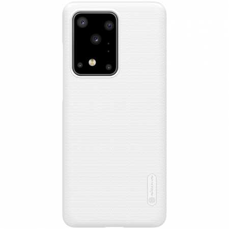 For Samsung Galaxy S20 Ultra - NILLKIN Frosted Shield Matte Hard Phone Cover - White