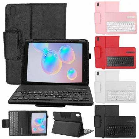 For Samsung Tab A 10.1 2019 T510/T515 T517 Tablet Wireless Keyboard Leather Case