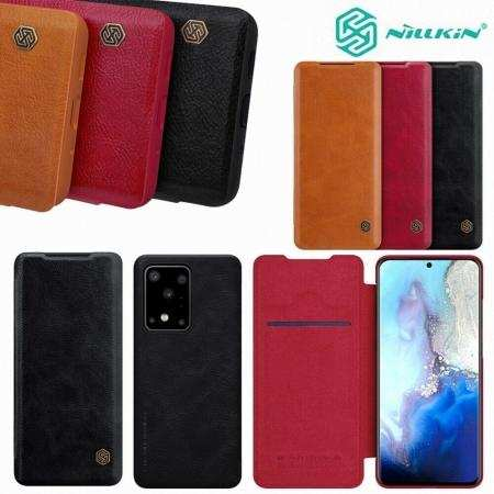 NILLKIN Leather Wallet Card Case Cover For Samsung Galaxy S20 Ultra S20+