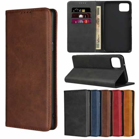 For Google Pixel 4a 5G / 3 / 3a / 4 XL Phone Case Leather Magnetic Wallet Card Holder