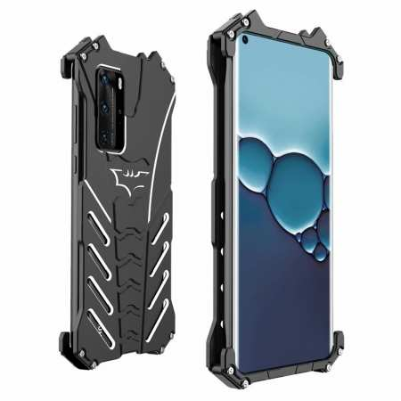 For Huawei P40 R-JUST Shockproof Aluminum Metal Case