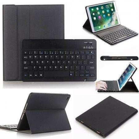 "For iPad Air 10.5"" (3rd Gen) 2019 Wireless Tablet Keyboard Leather Case Cover"
