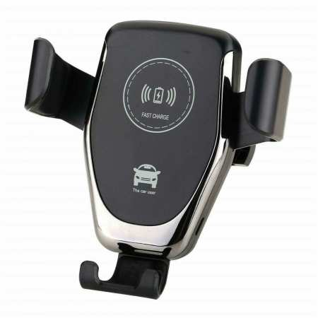 For Samsung Galaxy S20 Ultra Plus Car Mount Wireless Fast Charger Holder Stand