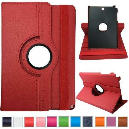 For Samsung Galaxy Tab A 8.0 SM-T350 360 Rotating Flip Leather Case Tablet Cover