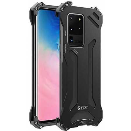 Military Aluminum Metal Bumper Shockproof Case Cover For Samsung Galaxy Note 10 9 8 S9 S8 S10 S20 Plus