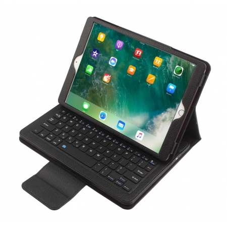 For iPad 7th 8th Generation 10.2\'\' Pro 11 12.9 Detachable Bluetooth Keyboard Leather Folio Case Cover