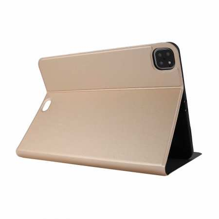 "For iPad Pro 11"" 2020 Stand Folio PU Leather Case - Gold"
