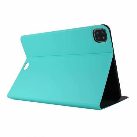 "For iPad Pro 11"" 2020 Stand Folio PU Leather Case - Green"
