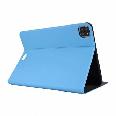 "For iPad Pro 11"" 2020 Stand Folio PU Leather Case - Light Blue"