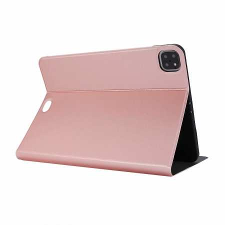"For iPad Pro 11"" 2020 Stand Folio PU Leather Case - Rose Gold"