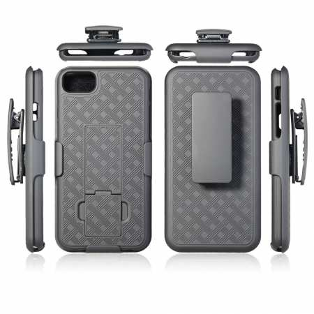 For iPhone SE 2020 Phone Case Slide Holster Belt Clip Cover