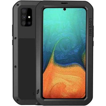 For Samsung Galaxy A52 A51 A71 5G Case Waterproof Shockproof Aluminum Gorilla Glass Metal Heavy Duty Cover