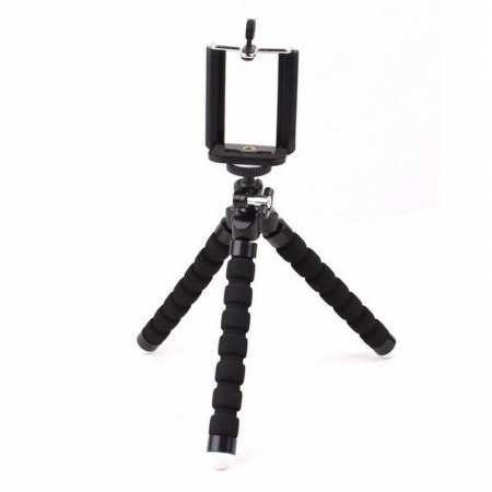 Universal Mobile phone Stand Tripod Mount Holder for Samsung iPhone