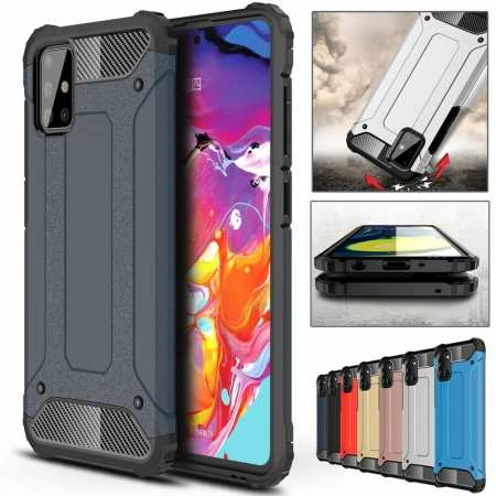 Case For Samsung Galaxy A11 A71 5G A21 A51 Shockproof Armor Hybrid Cover