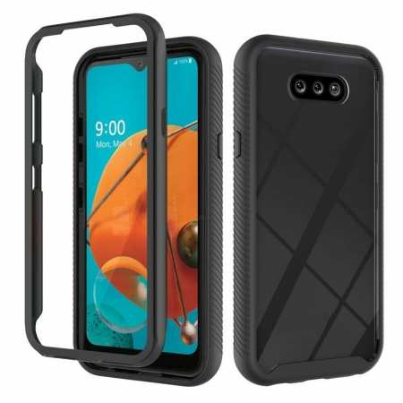 For LG Phoenix 5/Aristo 5/5+/Fortune 3 Case Shockproof Bumper TPU Phone Cover Built-in Screen Protector