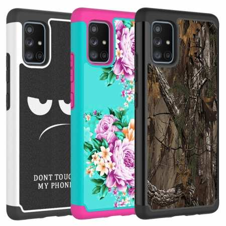 For Samsung Galaxy A71 5G UW Case A11 A21 A51 Hybrid Shockproof Protective Cover