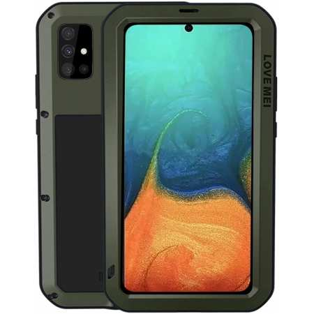 For Samsung Galaxy A71 5G A51 Gorilla Glass Waterproof Shockproof Full-Body Case