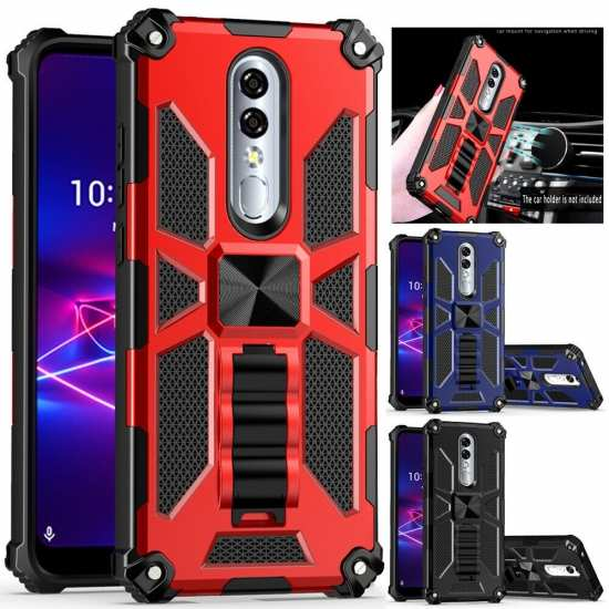 For Coolpad Legacy Brisa Case Heavy Duty Shockproof Armor Kickstand Phone Cover
