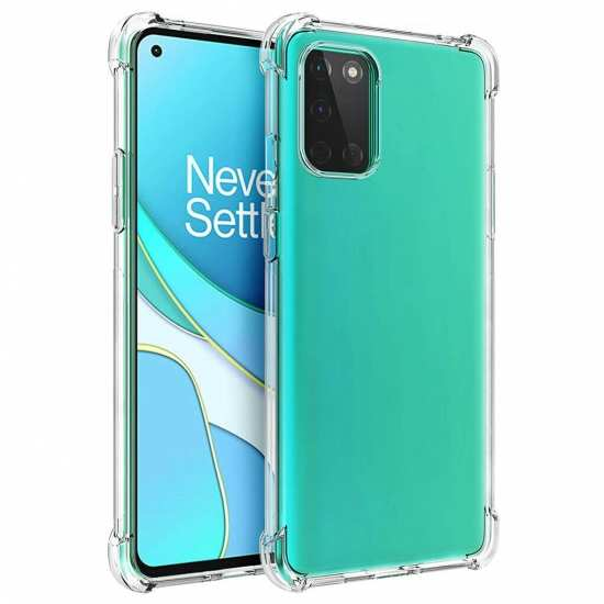 For OnePlus 8T / 8T Plus 5G Case Clear Shockproof Flexible TPU Soft Protective Soft Cover