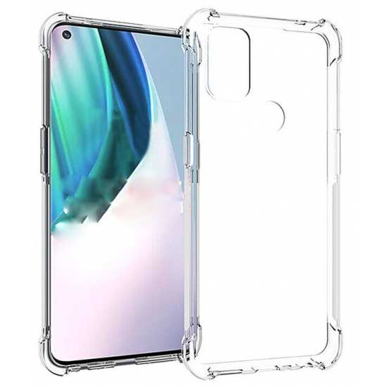 For Oneplus Nord N10 5G Shockproof Clear TPU Case Cover