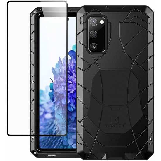 For Samsung S20 FE 5G Metal Case Heavy Duty Military Bumper Shockproof Defender Cover