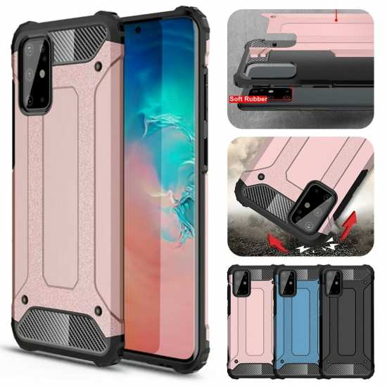 For Samsung Galaxy A12 S20 FE 5G UW Case Shockproof Hybrid Armor Hard Cover