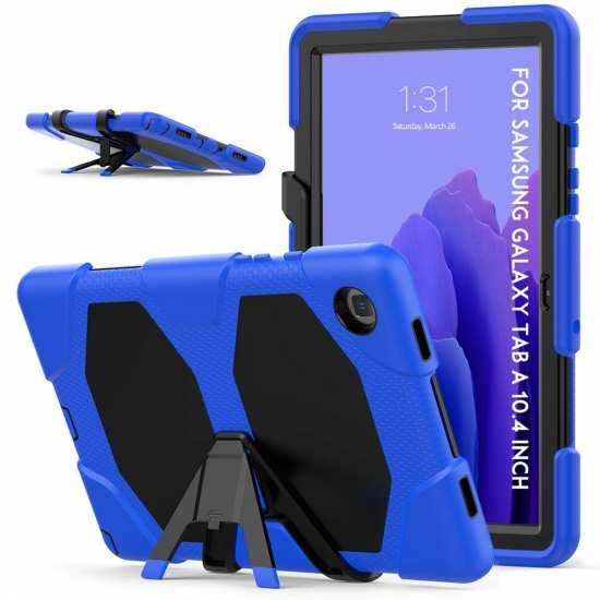 Case For Samsung Galaxy Tab A7 10.4 T500/505 Hybrid Shockproof Stand Cover - Blue