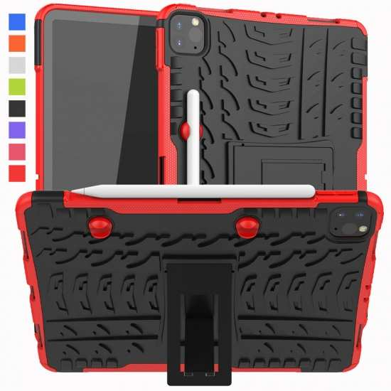 "For iPad Air 4th Gen 10.9"" 2020 Shockproof Rugged Rubber Stand Hybrid Case Cover"