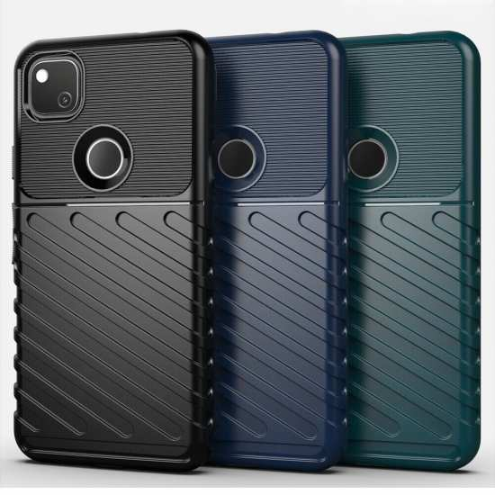 For Google Pixel 4A 4G Case Shockproof Soft TPU Protective Cover